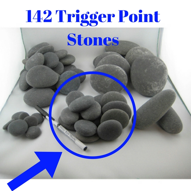 14 small stones