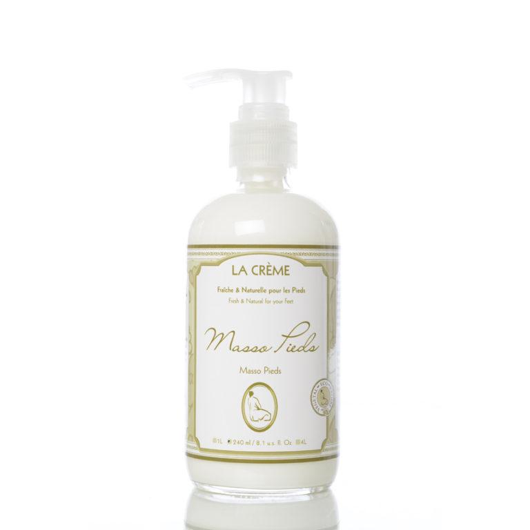 lherb foot cream massage