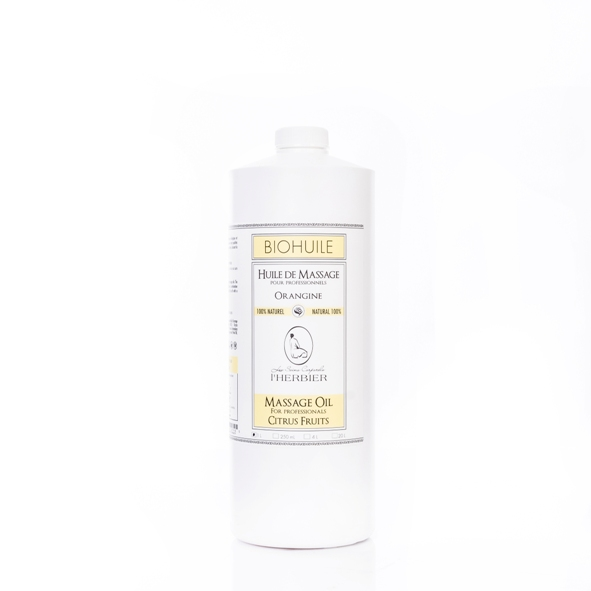 lherb orangine massage oil 1 ltr small pic