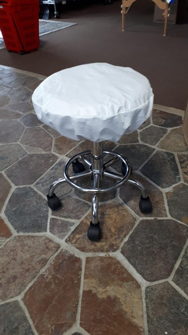 vinyl stool covers fitted