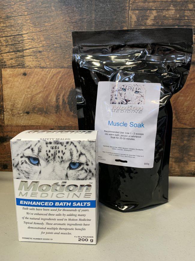 motion medicine salts